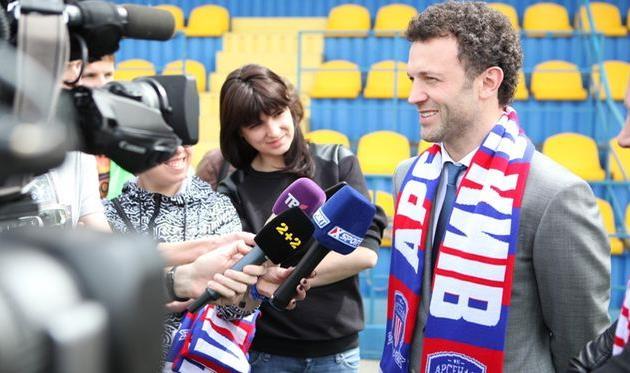 Алексей Кикирешко, фото пресс-службы Арсенала