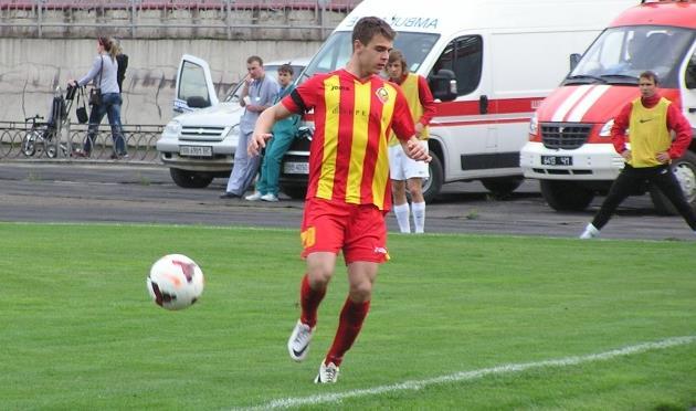Дмитрий Фатеев, фото fcstal.lg.ua