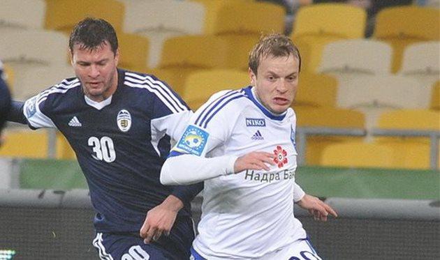 Никулаэ в борьбе с Гусевым, фото Илья Хохлов, Football.ua