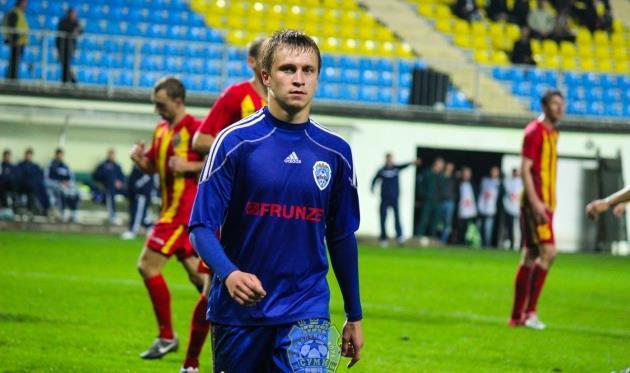 Олександр Лебеденко, фото fc.sumy.ua