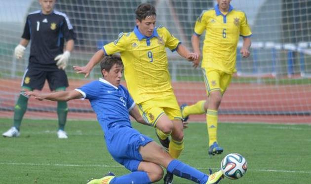 Отбор к Евро-2015 (U-17). Нулевая между Украиной и Грецией