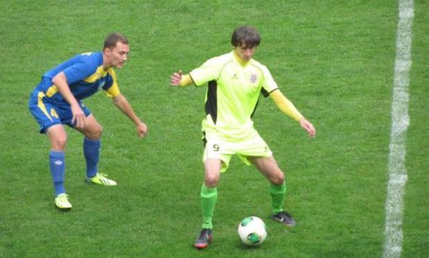Гола Кулиша (слева) для победы его команды не хватило, фото fc.ternopil.ua