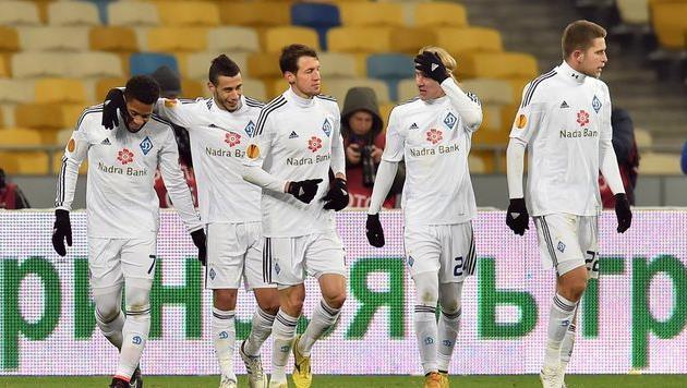 Динамо вышло в плей-офф Лиги Европы