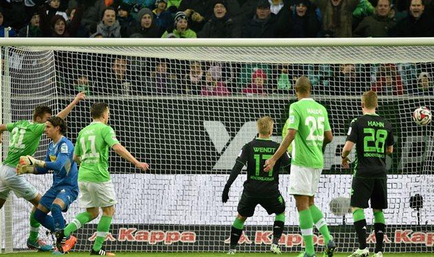 Вольфсбург боруссия м 0- 0