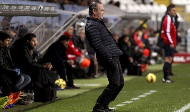 Хуан Игнасио Мартинес заставляет Альмерию побеждать, фото Daniel Pérez (EFE)