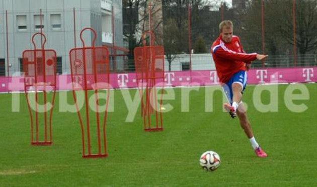 Хольгер Бадштубер, фото www.fcbayern.de