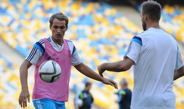 Макаренко и Ярмоленко, фото Ильи Хохлова, Football.ua