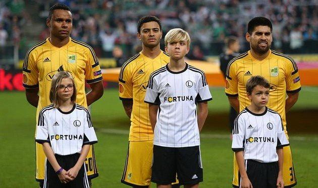 Жажа, Шавьер и Вильягра. © РОМАН ШЕВЧУК, Football.ua