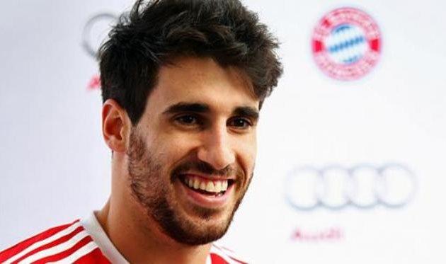 Хави Мартинес, фото www.fcbayern.de