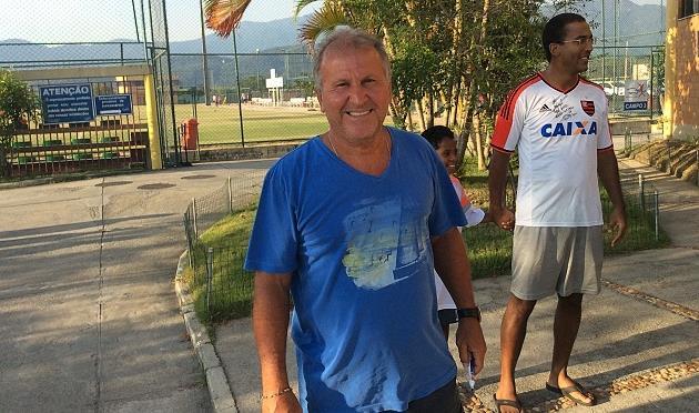 Зико, фото Евгения Блажко, Football.ua