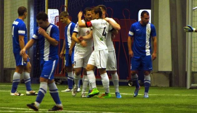 Олимпик обыграл Десну. Фото Артура Валерко, Football.ua.