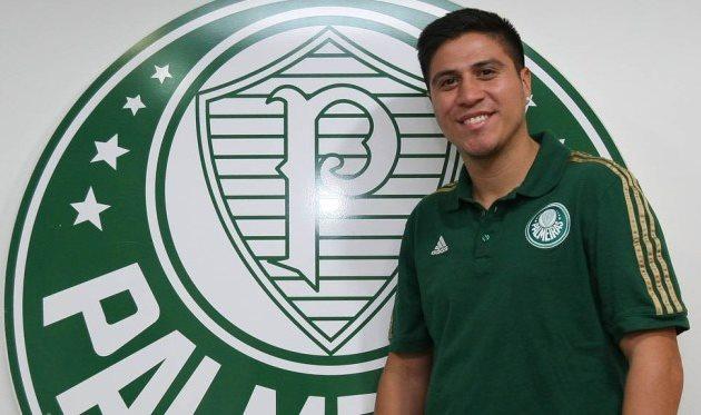Джонатан Кристальдо, фото palmeiras.com.br