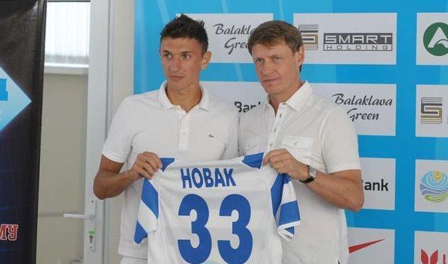 Евгений Новак (слева), фото fcskchf.com