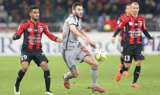 Жиньяк бОльшую часть встречи провел на позиции крайнего нападающего, фото francefootball.fr