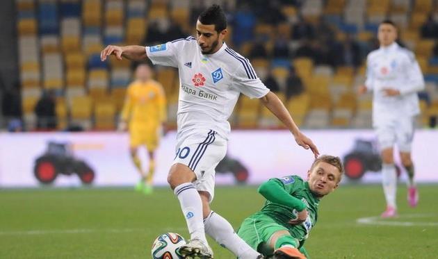 Юнес Бельханда, фото © ИЛЬЯ ХОХЛОВ, Football.ua