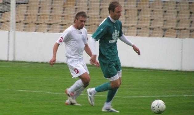 Роман Степанков (справа), фото Артура Валерко, Football.ua