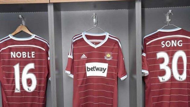 Новые футболки Вест Хэма, skysports.com