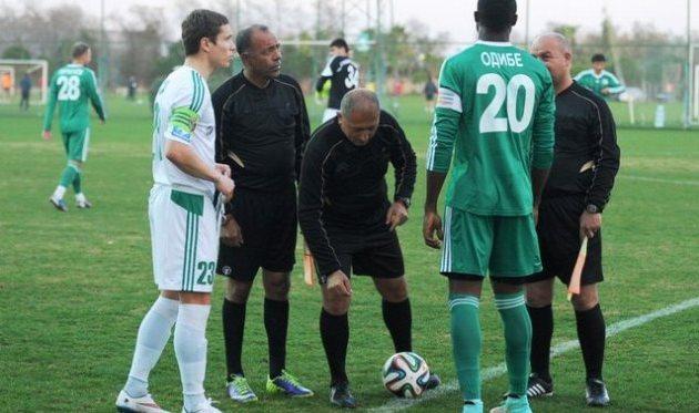 Вадим Сапай (слева), vorskla.com.ua