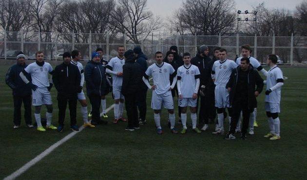 Роман Дацюк (№11 слева), фото fcstal.com.ua