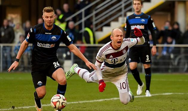 Роббен заработал пенальти и дважды забил, Getty Images