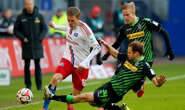 Боруссия менхенгладбах- гамбург футбол