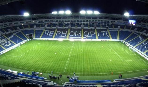 Стадион Черноморец, odessa360.net