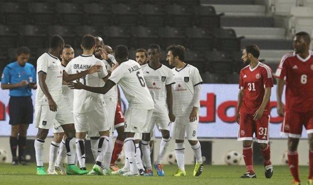 Аль-Садд празднует победу, фото qsl.com.qa