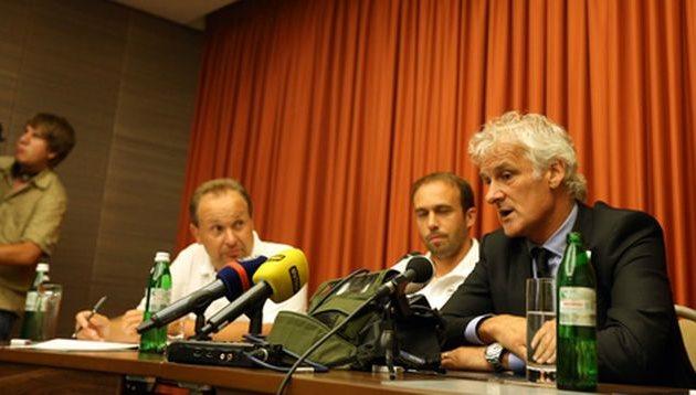 Фред Руттен (крайний справа), feyenoord.nl