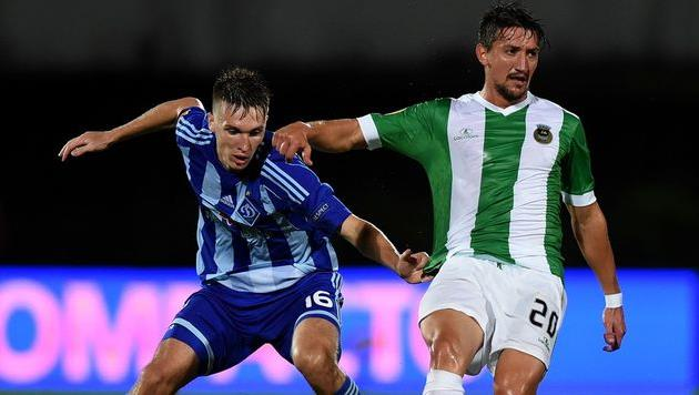 Сергей Сидорчук (слева), uefa.com