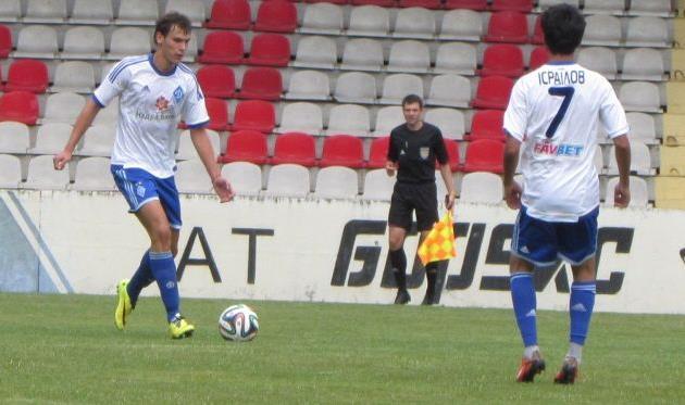 Александр Азацкий (слева), фото Артура Валерко, Football.ua