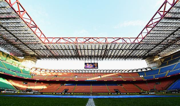 Стадион Джузеппе Меацца, Getty Images