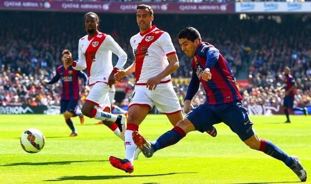 Суарес открывает счет в матче, Getty Images
