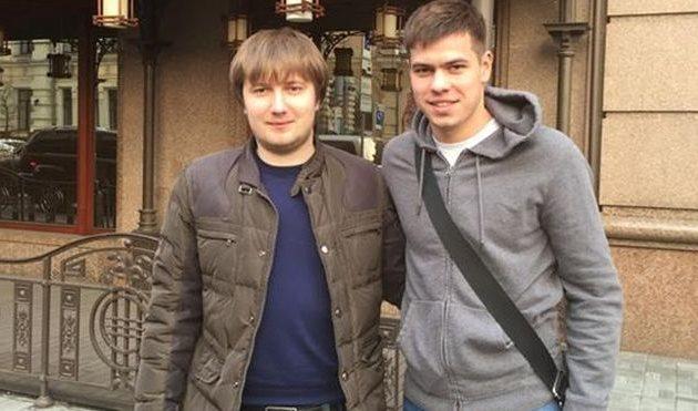 Алексей Шевченко (справа), facebook.com/vadim.shabliy