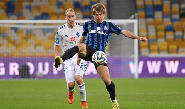 Виталий Балашов против Домагоя Виды, фото Football.ua