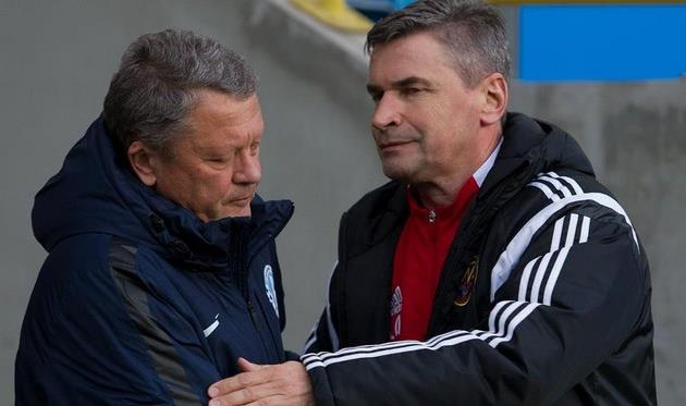 Чанцев и Маркевич, фото © СТАНИСЛАВ ВЕДМИДЬ, Football.ua