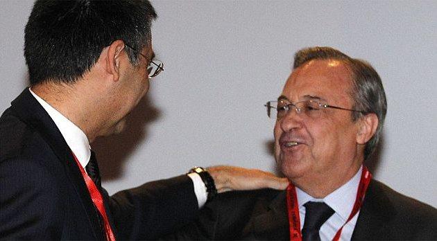 Хосеп Бартомеу и Флорентино Перес, as.com