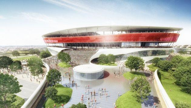Проект нового стадиона, фото demorgen.be