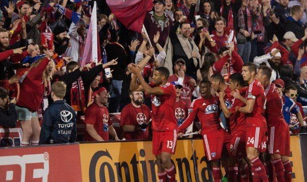 Радость игроков Далласа, Getty Images