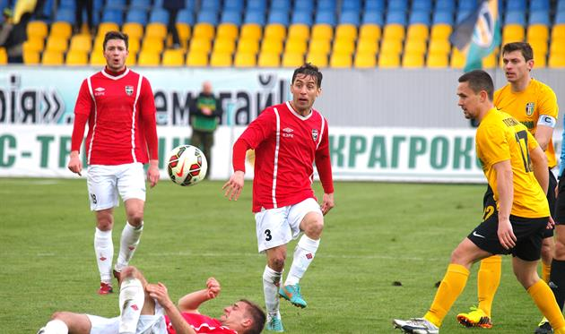 Нудный сотоварищи сменили лидера, фото fcgornyak.dp.ua