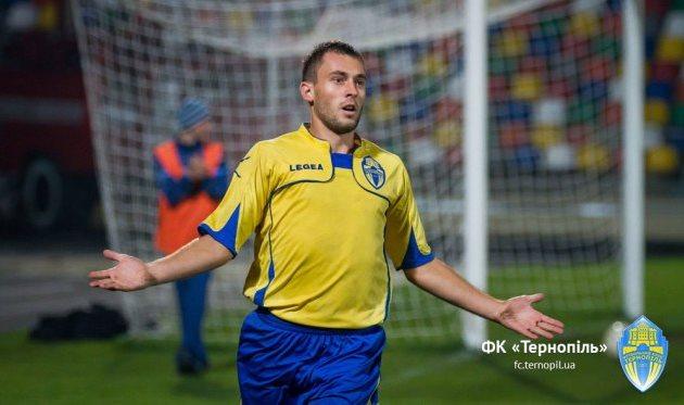 Богдан Семенец, фото fc.ternopil.ua