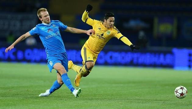 Еременко поиграл за Олимпик, фото Романа Шевчука Football.ua