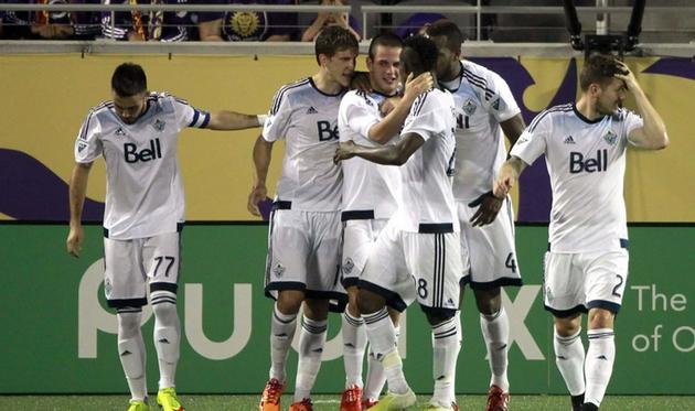 Радость игроков Ванкувера, Getty Images