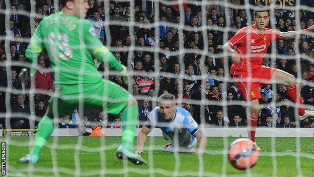 Коутиньо забил победный мяч, Getty Images