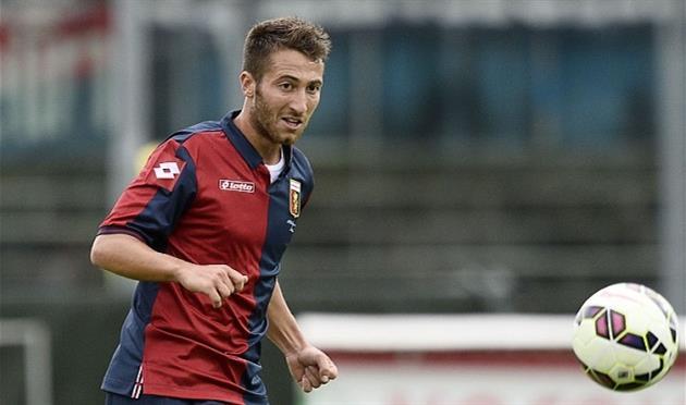 Андреа Бертолаччи, Genoa CFC