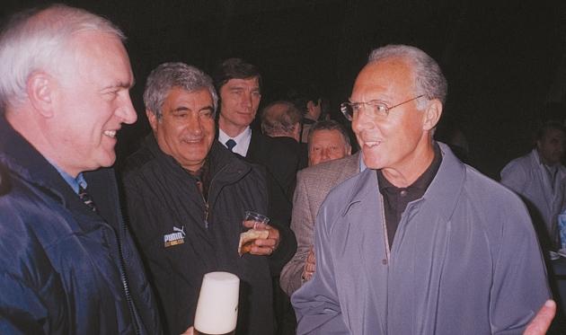 Пустовойтенко з Бекенбауером, фото із архіву В.П.Пустовойтенка