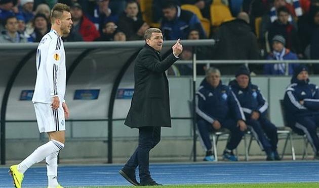 Ярмоленко и Ребров, Football.ua