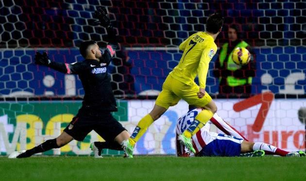Лусиано Вьетто забивает единственный мяч на Висенте Кальдерон и приносит победу Вильярреалу, Getty Images