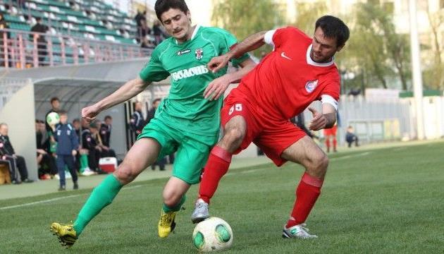 Василий Продан (слева) наведается в гости к родному клубу, фото fcbrovar.obolon.ua
