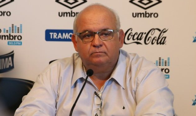 Президент Гремио, фото Eduardo Moura/GloboEsporte.com