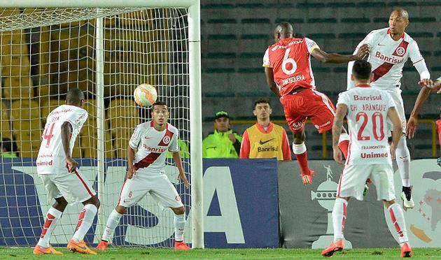 Дайро Москера забивает победный гол, Getty Images